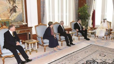 Photo of Amir meets British Parliament delegation