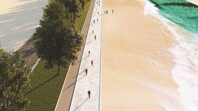 Photo of Work begins on new tourist destination in Doha Ras Bu Abboud beach