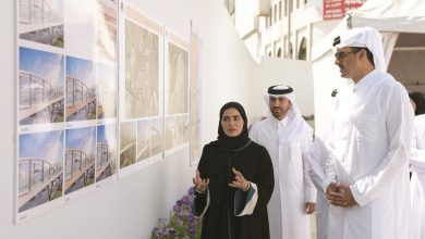 Photo of Amir visits Doha Central Development Project