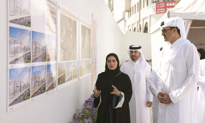 Amir visits Doha Central Development Project