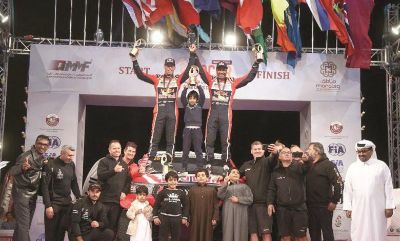 Al-Attiyah wins his seventh Qatar Cross-Country Rally