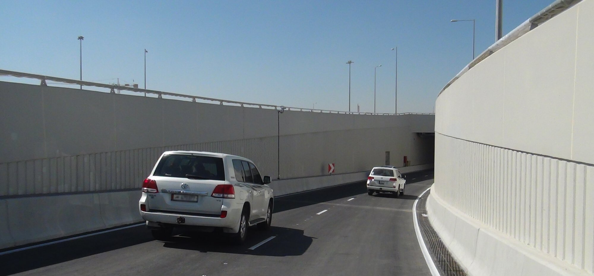 Opening Fourth Underpass at Mesaimeer Interchange