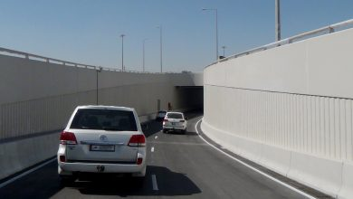 Photo of Opening Fourth Underpass at Mesaimeer Interchange