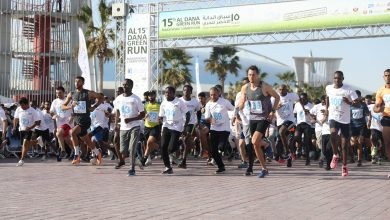 Photo of Over 8,000 take part in Al Dana Green Run