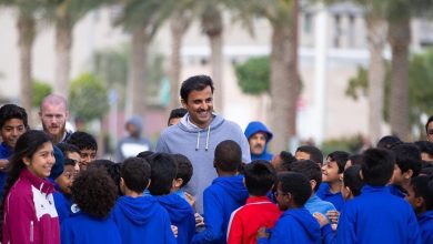 Photo of Amir participates in the activities of National Sport Day