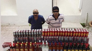 Photo of Two expats arrested for bootlegging