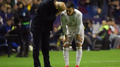 Photo of Madrid's Hazard suffers another fracture to right leg