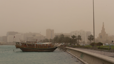 Photo of Windy and dusty conditions expected again today