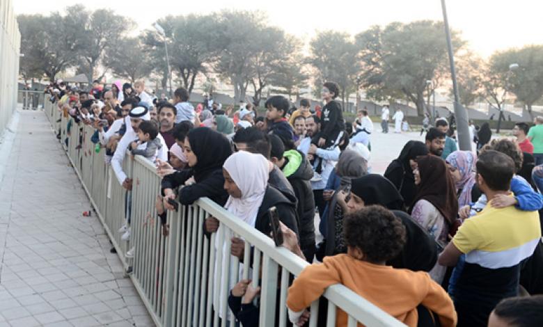 Massive crowds at Al Khor Family Park