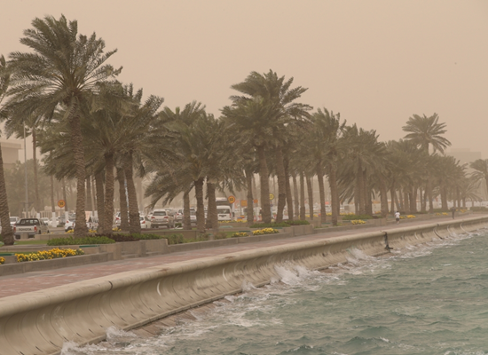 Windy and dusty conditions expected again today