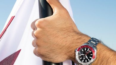 Photo of The exclusive premiere of the Qatar limited edition Aquaracer Calibre 7 GMT