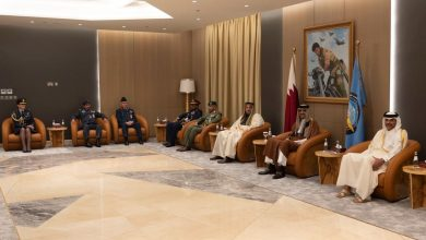 Photo of Amir meets heads of military colleges from brotherly and friendly countries