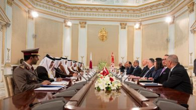 Photo of Amir holds talks with Tunisian president