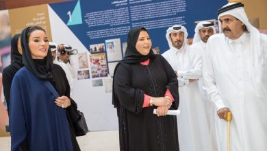 Photo of Father Amir, Sheikha Moza attend official opening of QF's Tariq bin Ziad School