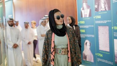 Photo of Sheikha Moza attends Education City Golf Club opening
