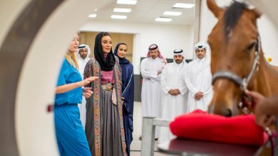 Photo of Sheikha Moza opens Equine Veterinary Medical Center