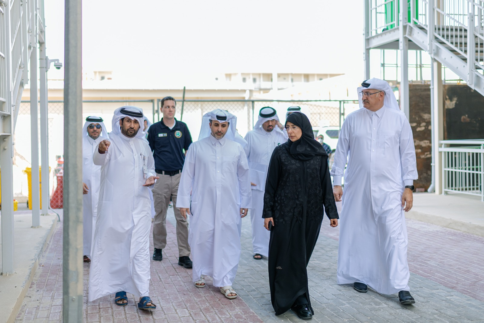 Minister of Public Health & Minister of Municipality and Environment Inspect the Preparedness of Umm Slal Quarantine Compound​​