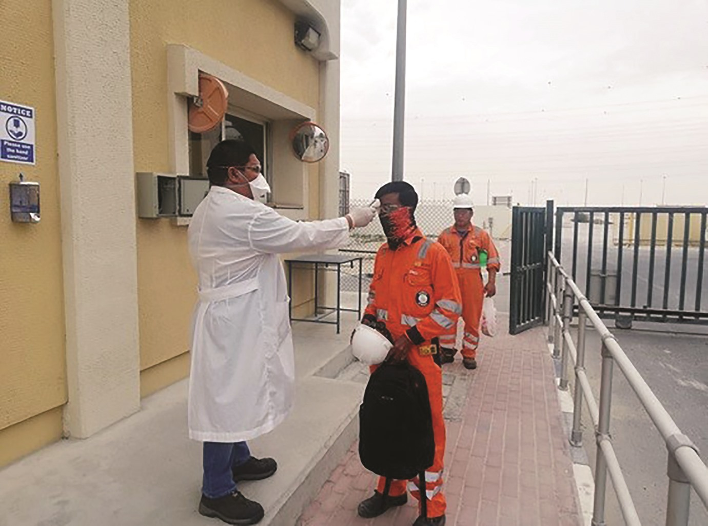 Ashghal inspects safety measures in project sites and labour accommodations