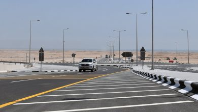 Photo of Ashghal Opens the Last Interchange on Al Khor Road Project