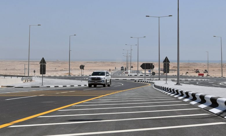 Ashghal Opens the Last Interchange on Al Khor Road Project