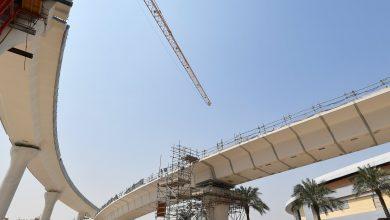 Photo of Demolishing temporary bridge and underpass on Al Luqta Street and Sabah Al Ahmad Corridor