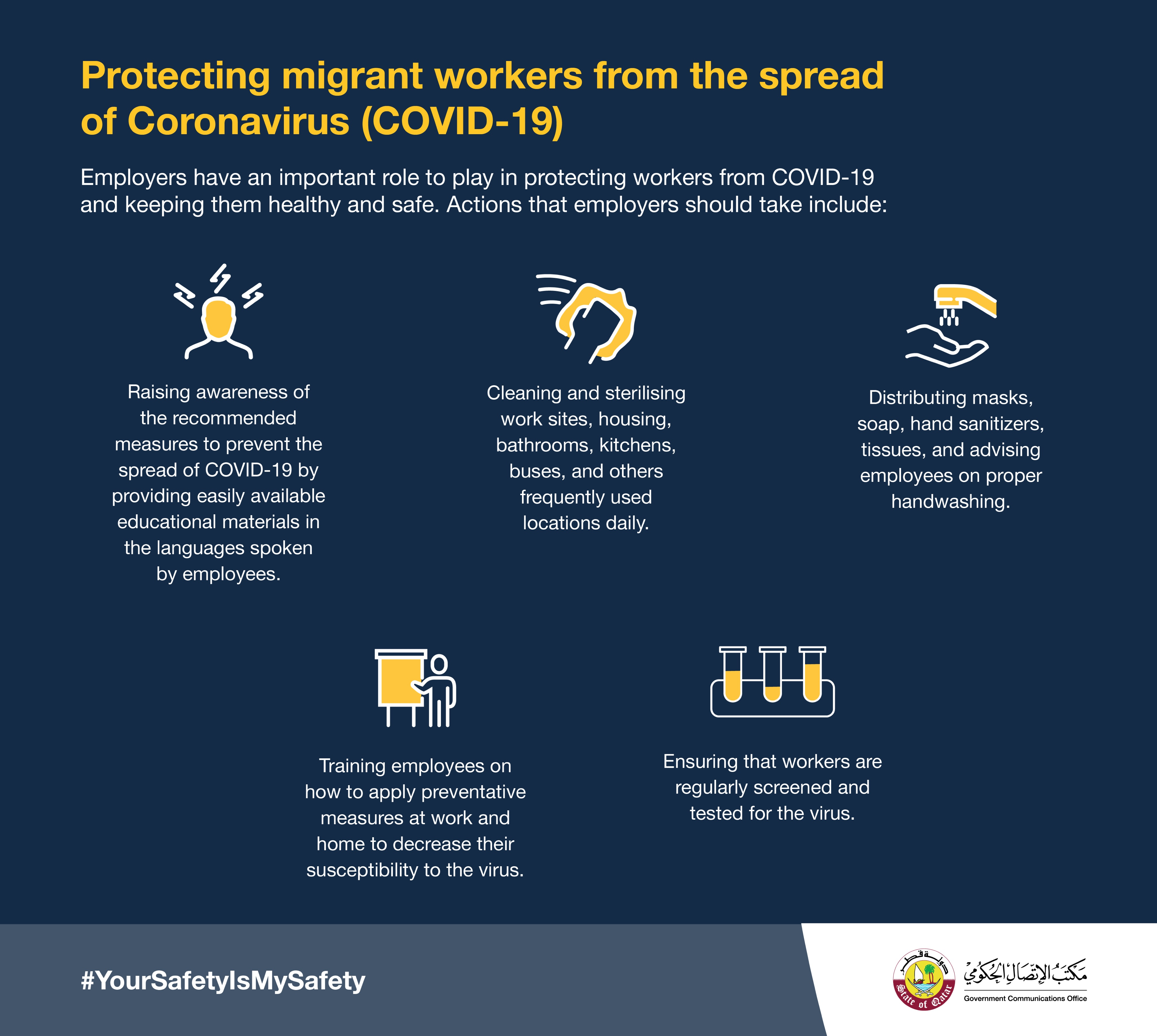 5 measures employers should take to protect workers from COVID-19