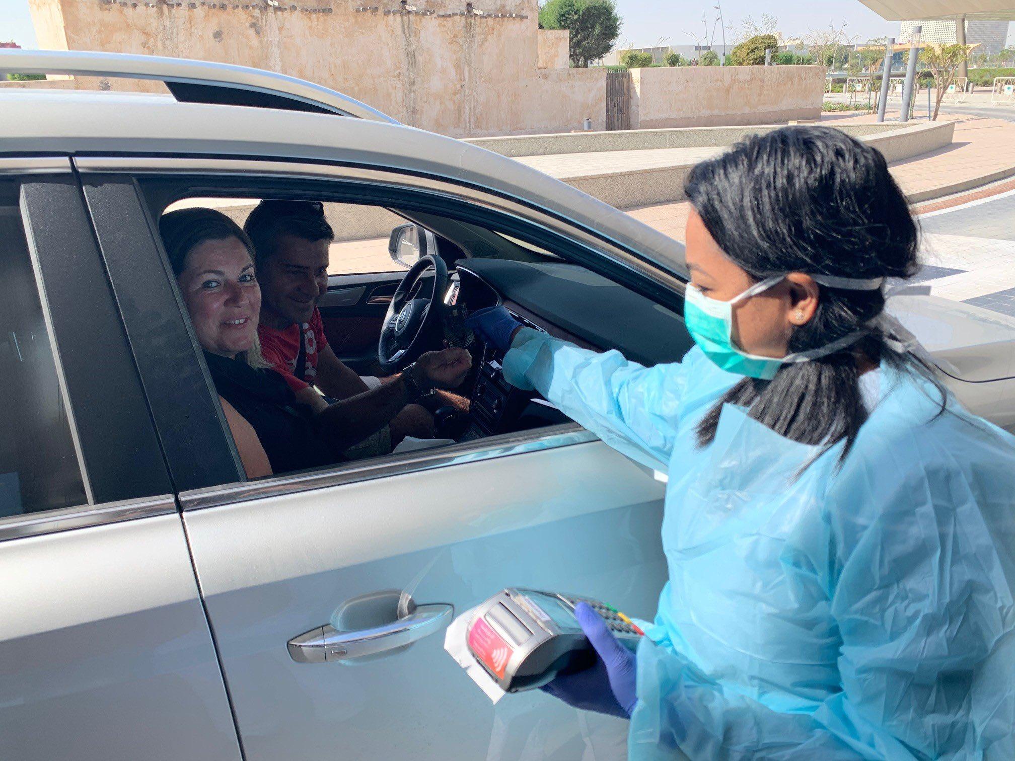 Sidra Medicine introduces drive-through pharmacy