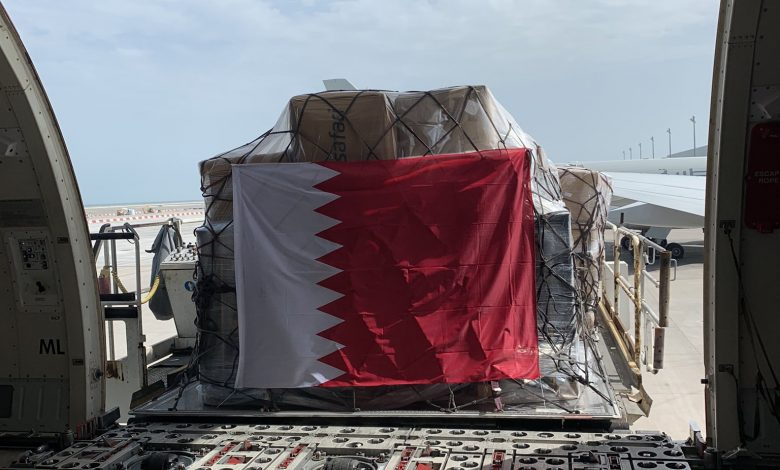 Qatar provides second shipment of urgent medical aid to Iran