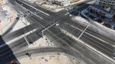 Photo of Al Rufaa Intersection Fully Upgraded and Opened for Traffic