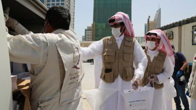 Photo of Qatar Charity distributes 900 health kits to workers in Lusail