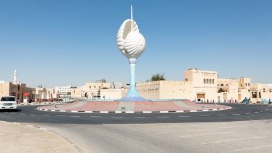 Photo of Ashghal relocates the Pearl Monument in Al Wakra Old Souq