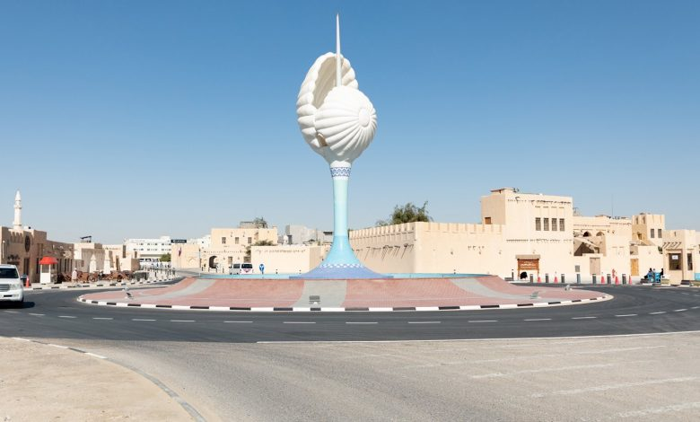 Ashghal relocates the Pearl Monument in Al Wakra Old Souq