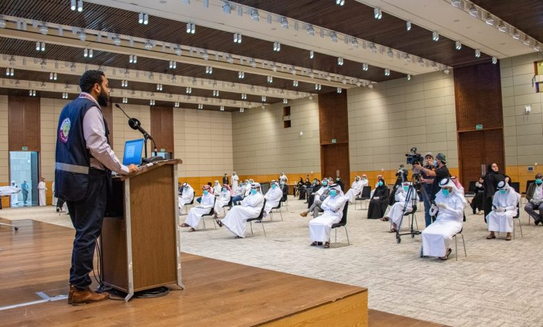 "MOPH organizes first training workshop for volunteers of ""For Qatar"" campaign"