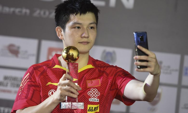 Zhendong, Meng stamp China's dominance with title wins in Doha