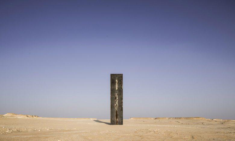 Richard Serra's sculptures in Zekreet are being sabotaged .. QM urges community to help protect public art