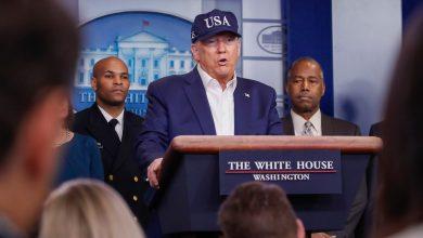 Photo of Trump tests negative for coronavirus: White House