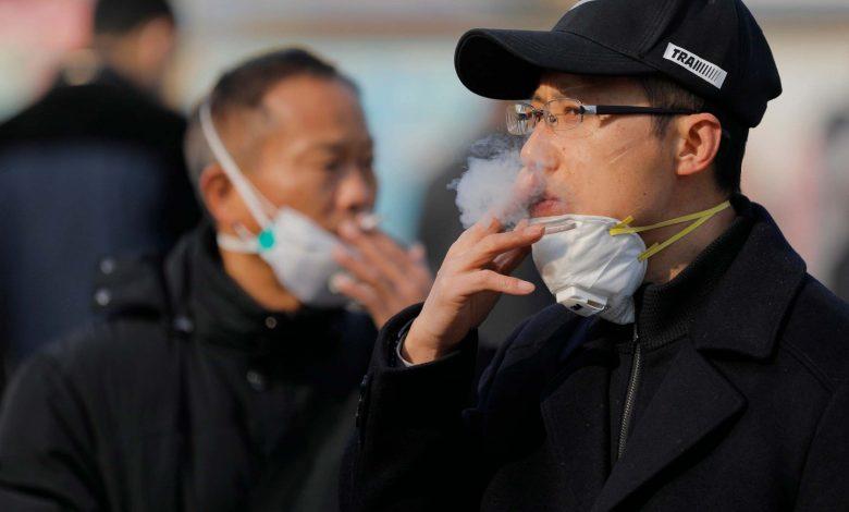 Beware.. smoking increases the risk of coronavirus infection