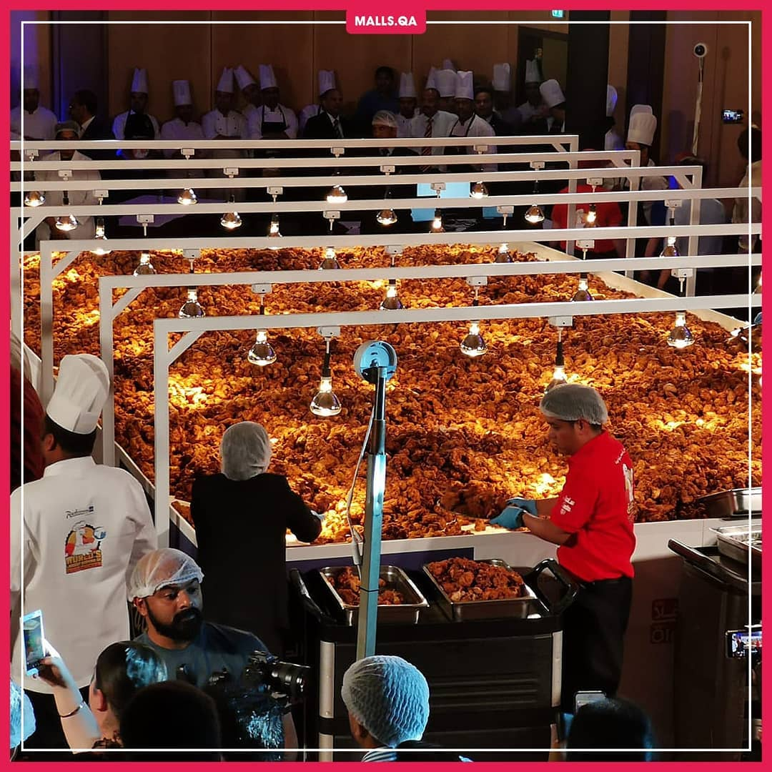 World's Largest Serving of Fried Chicken