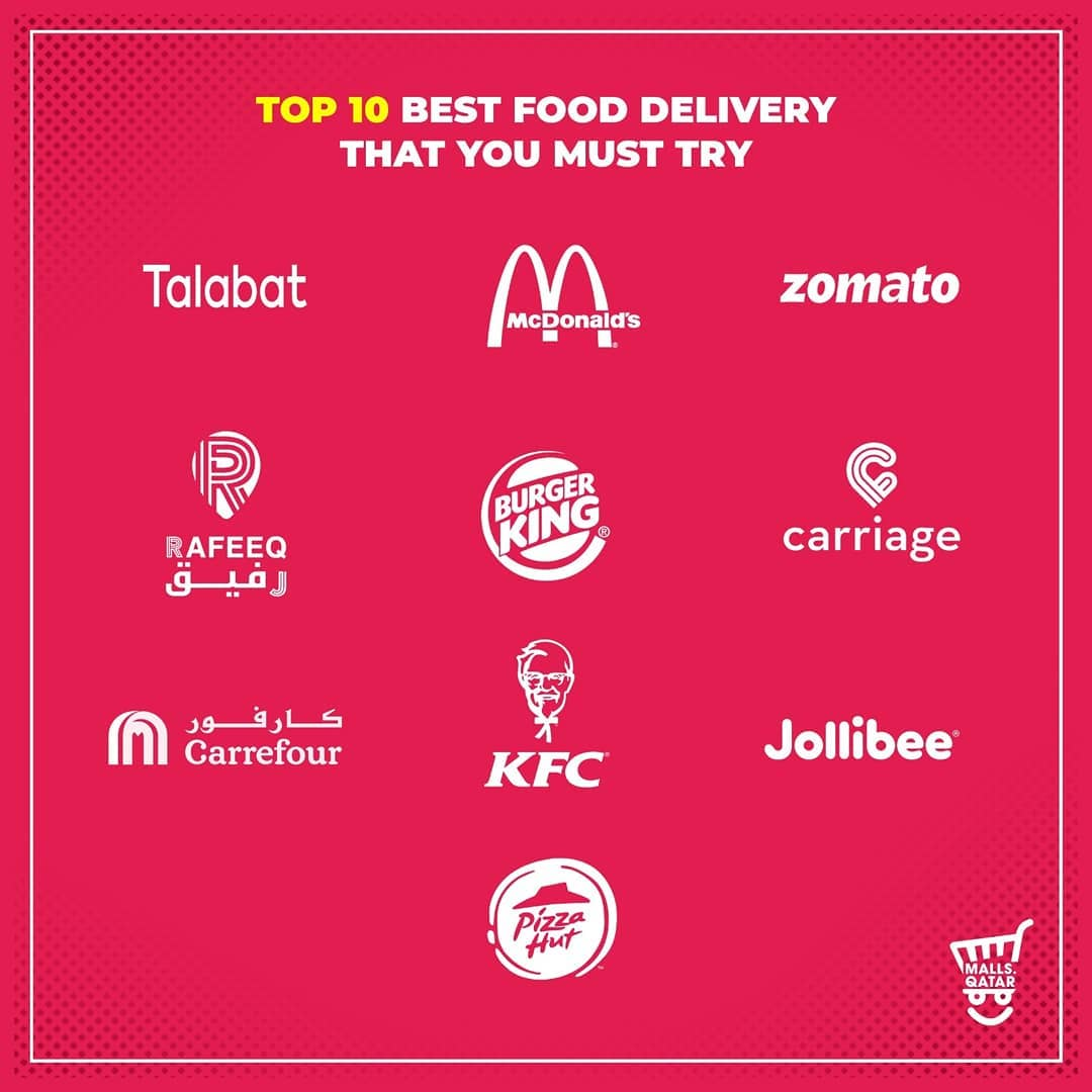 Since restaurant dine-ins and coffee shops are temporarily unavailable, here are our top delivery services available