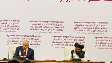 Photo of US, Taliban sign peace deal in Doha to wind down 18-year war