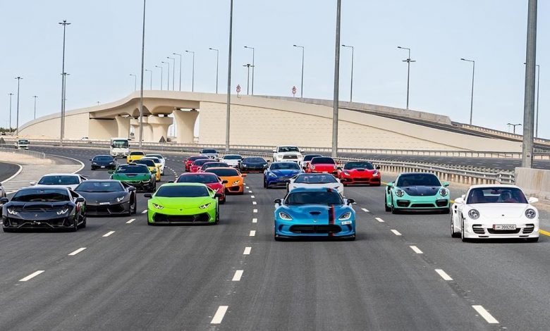 Supercars in Doha