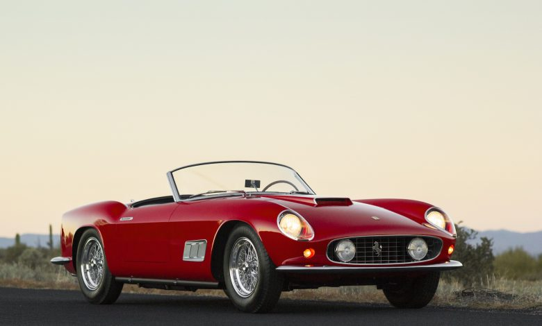 Photo of The Italian beauty Ferrari 250 GT Cabriolet MK1