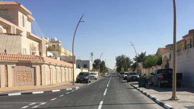 Photo of Opening Two Streets and Completion of Infrastructure Works in Rawdat Abal Heeran Area