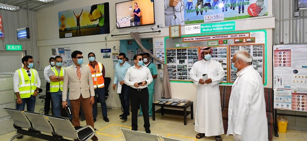 Ashghal launches intense inspection campaign at workplaces, labour accommodations