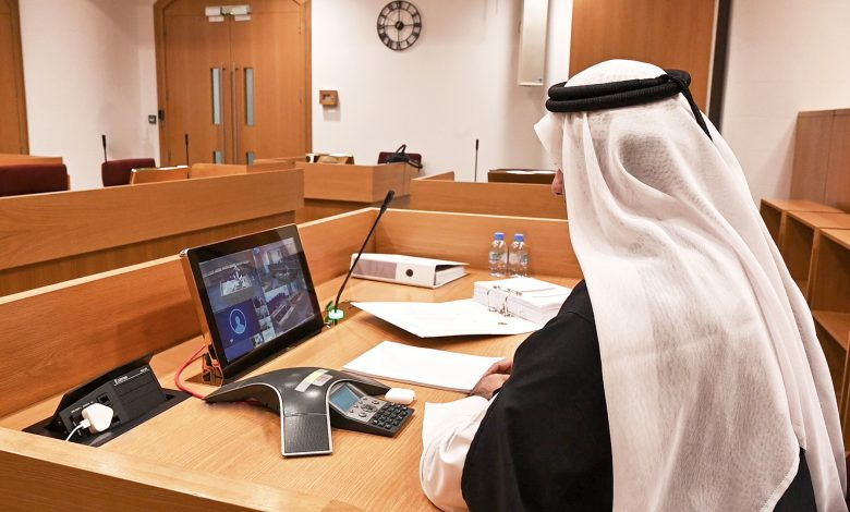 Qatar International Court holds first fully remote online hearing
