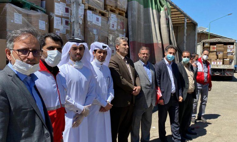 Third shipment of Qatar aid arrives in Iran