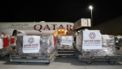 Qatar sends urgent medical aid to 4 countries to combat coronavirus pandemic
