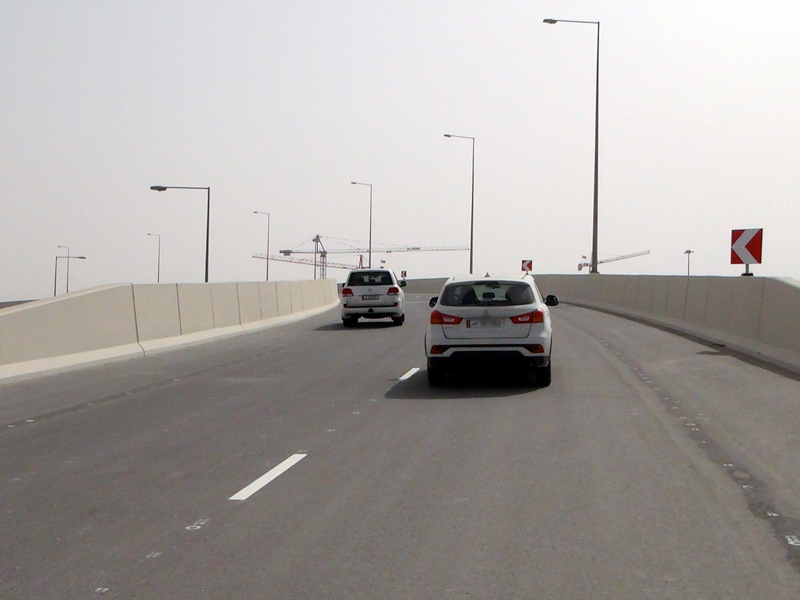 Ashghal Opens New Underpass and Bridge on Mesaimeer Interchange
