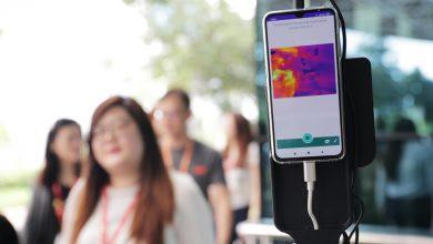 Ooredoo installs Fever Screening Thermal Camera System at retail shop