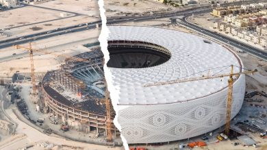 Photo of Continuous work at Al Thumama World Cup Stadium